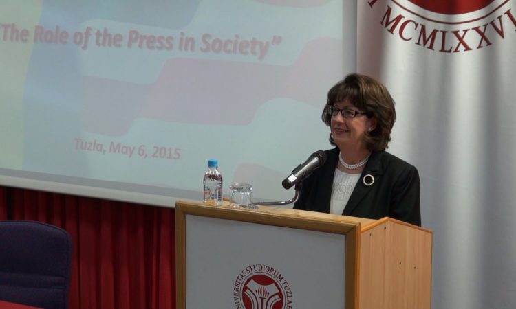 U.S. Ambassador Maureen Cormack: The Role of the Press in Society