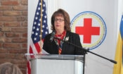 Ambassador Cormack – Red Cross building