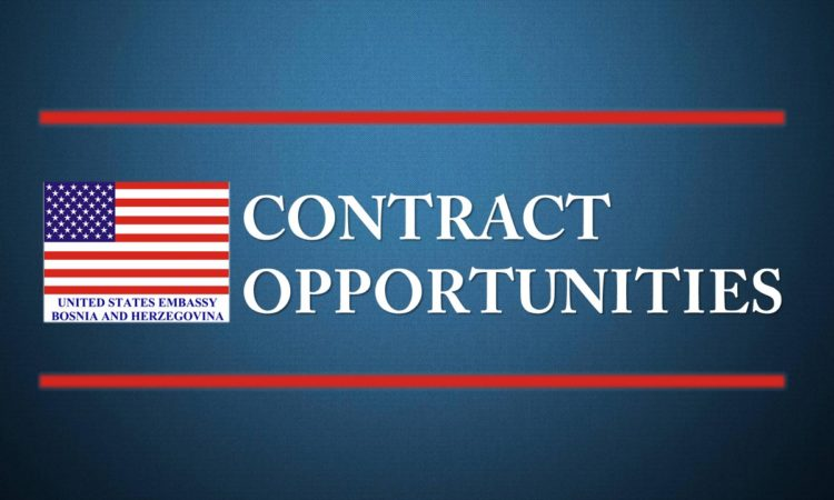 Contract Opportunities